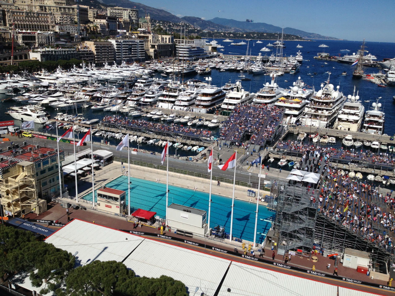 The most expensive apartment in the world is located in the Principality of Monaco